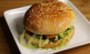 Veggie Burger (kala Chana Burger) – Manjula's Kitchen ..