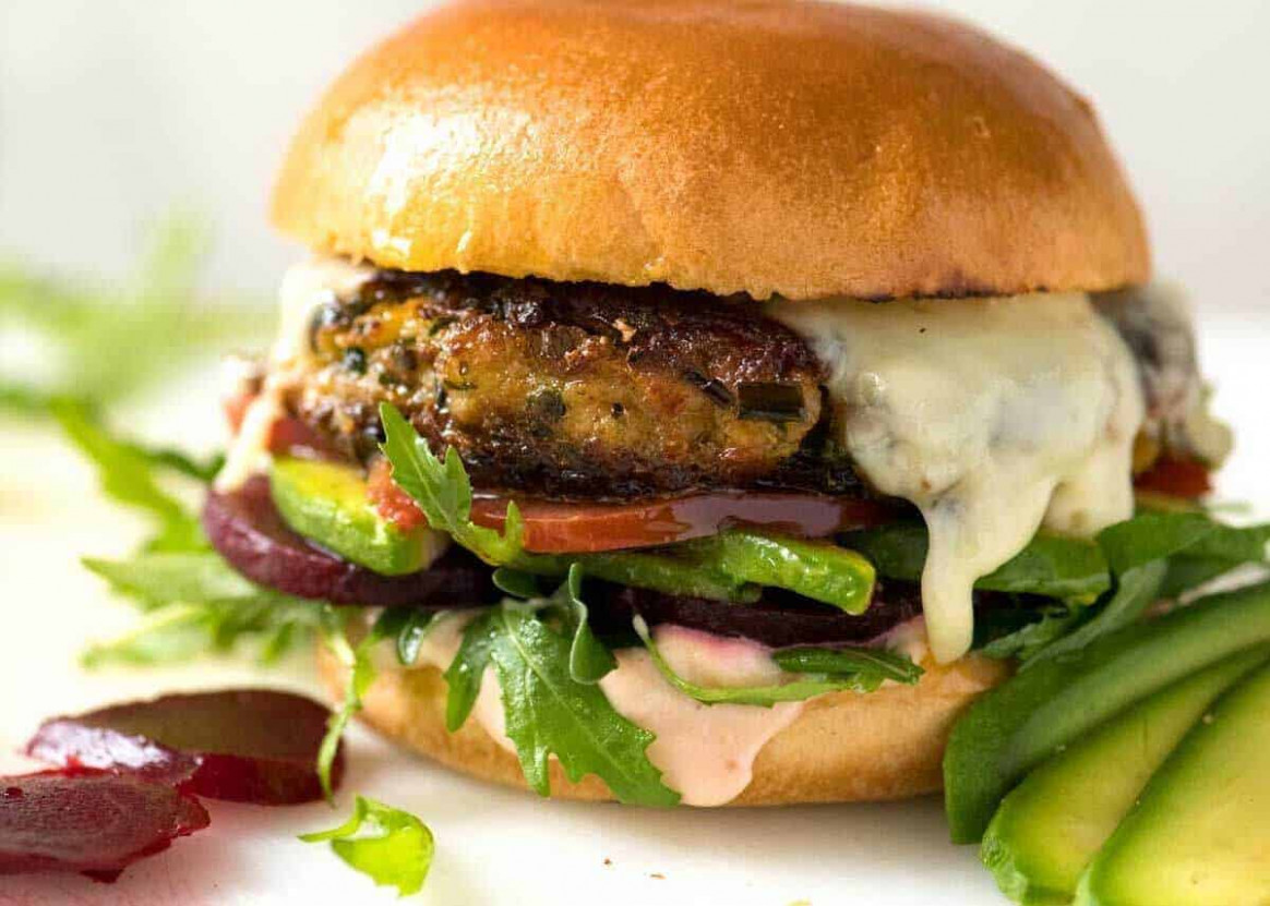 Veggie Burgers | RecipeTin Eats - recipes vegetarian burgers