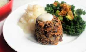 Veggie Burns Night Supper – SpamellaB's Health Food Blog – Recipes Vegetarian Haggis