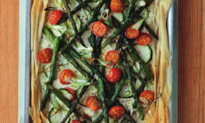 Veggie Filo Tart – Recipes Using Filo Pastry Vegetarian