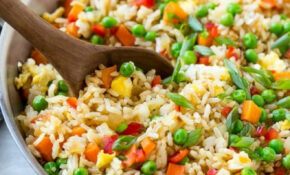 Veggie Fried Rice – Dinner At The Zoo – Easy Dinner Recipes Rice