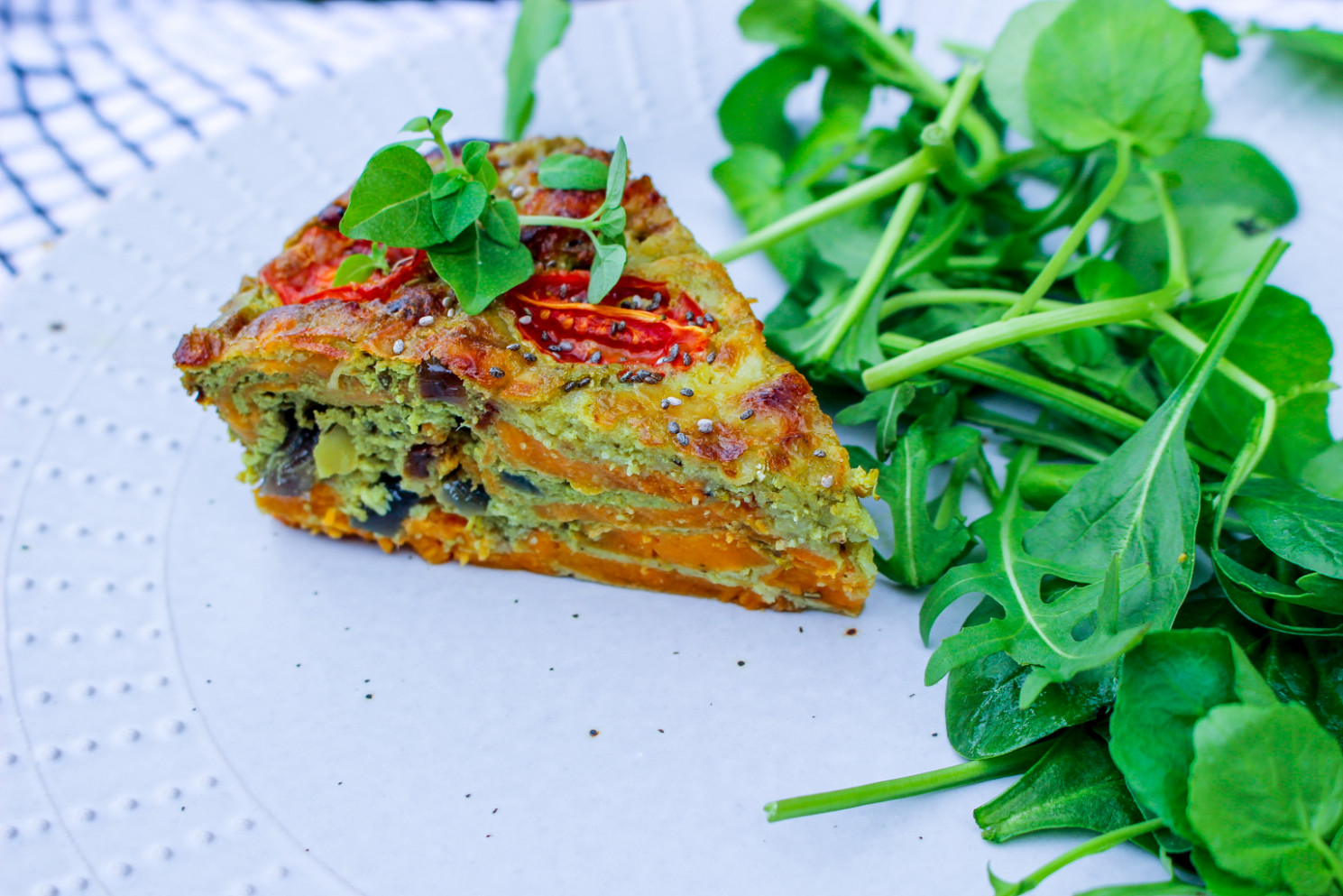 VEGGIE KALE AND BROCCOLI QUICHE RECIPE HEALTHY DIET MEAL IDEA - healthy recipes tasty