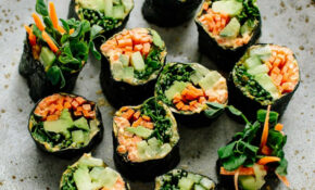 Veggie Nori Rolls – Vegetarian Wraps And Rolls Recipes