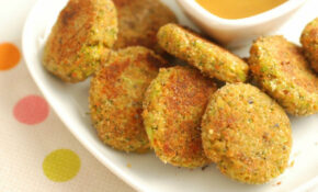 Veggie Nuggets That Kids LOVE! – Real Mom Nutrition – Recipes Vegetarian Family
