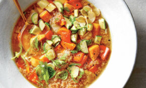 Veggie Quinoa Soup Recipe – Cooking Light – Recipes Vegetarian Quinoa