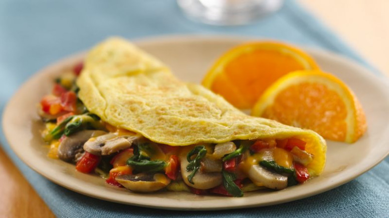 Veggie Stuffed Omelet Recipe - BettyCrocker