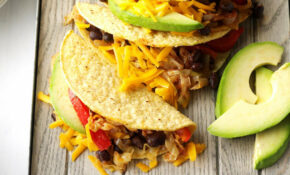 Veggie Tacos Recipe | Taste of Home