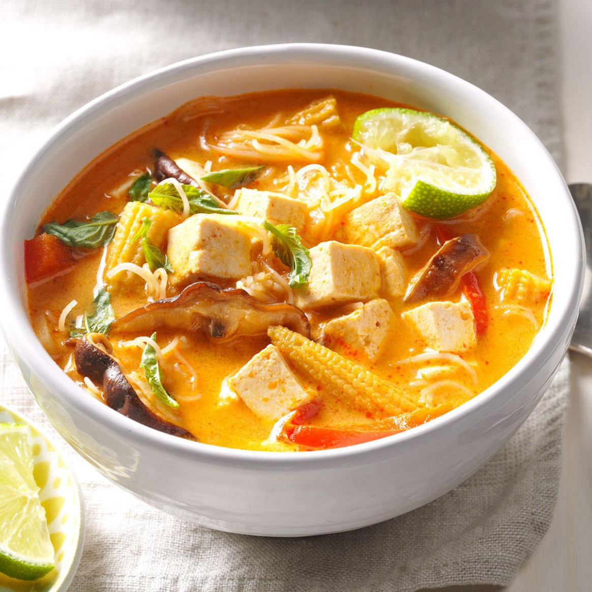 Veggie Thai Curry Soup - recipes vegetarian curry