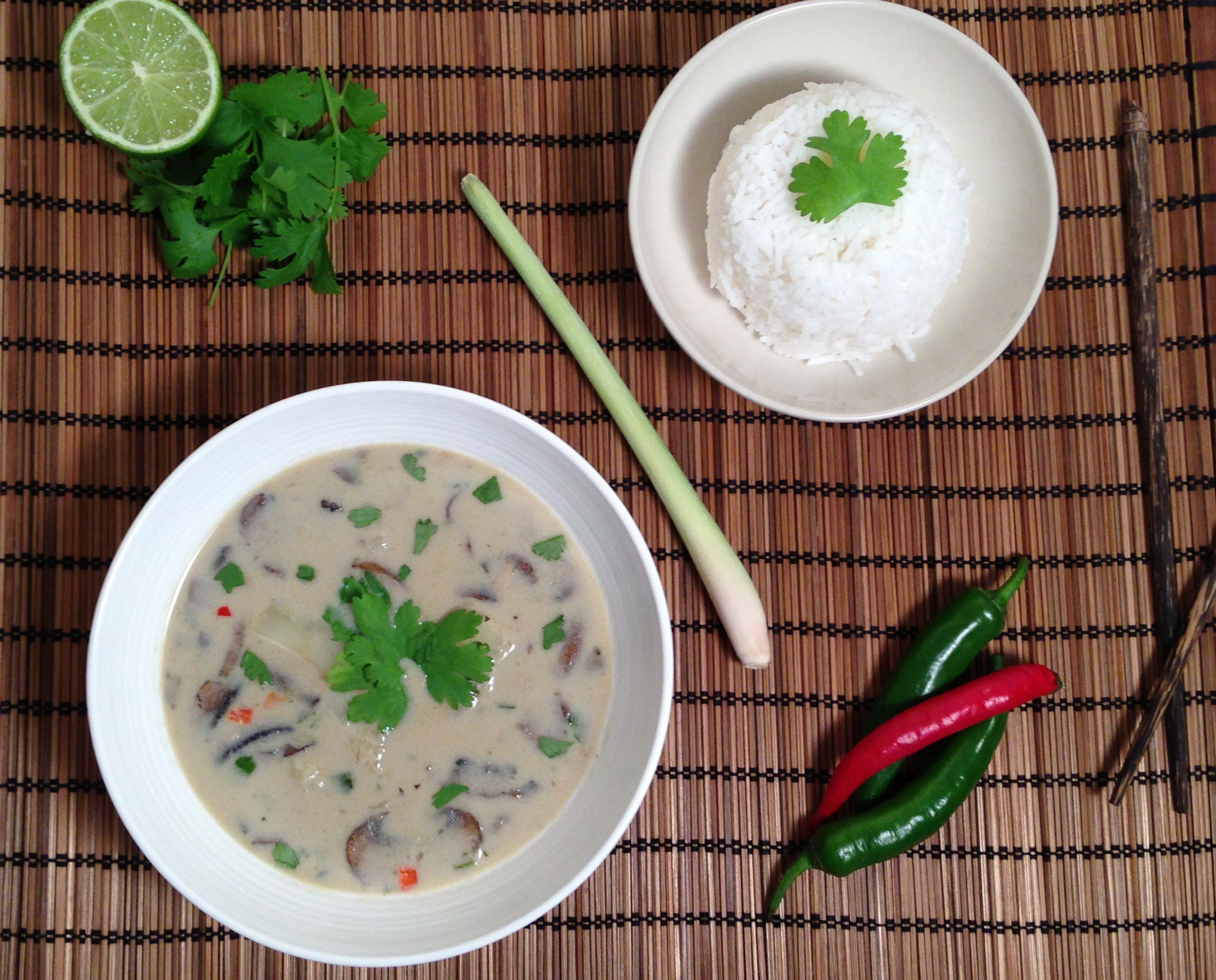 Veggie Thai Green Curry - Recipe Vegetarian Thai Green Curry