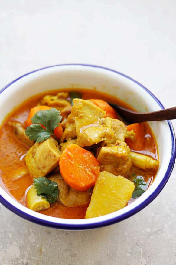 Vietnamese Chicken Curry - Rasa Malaysia - curry recipes chicken