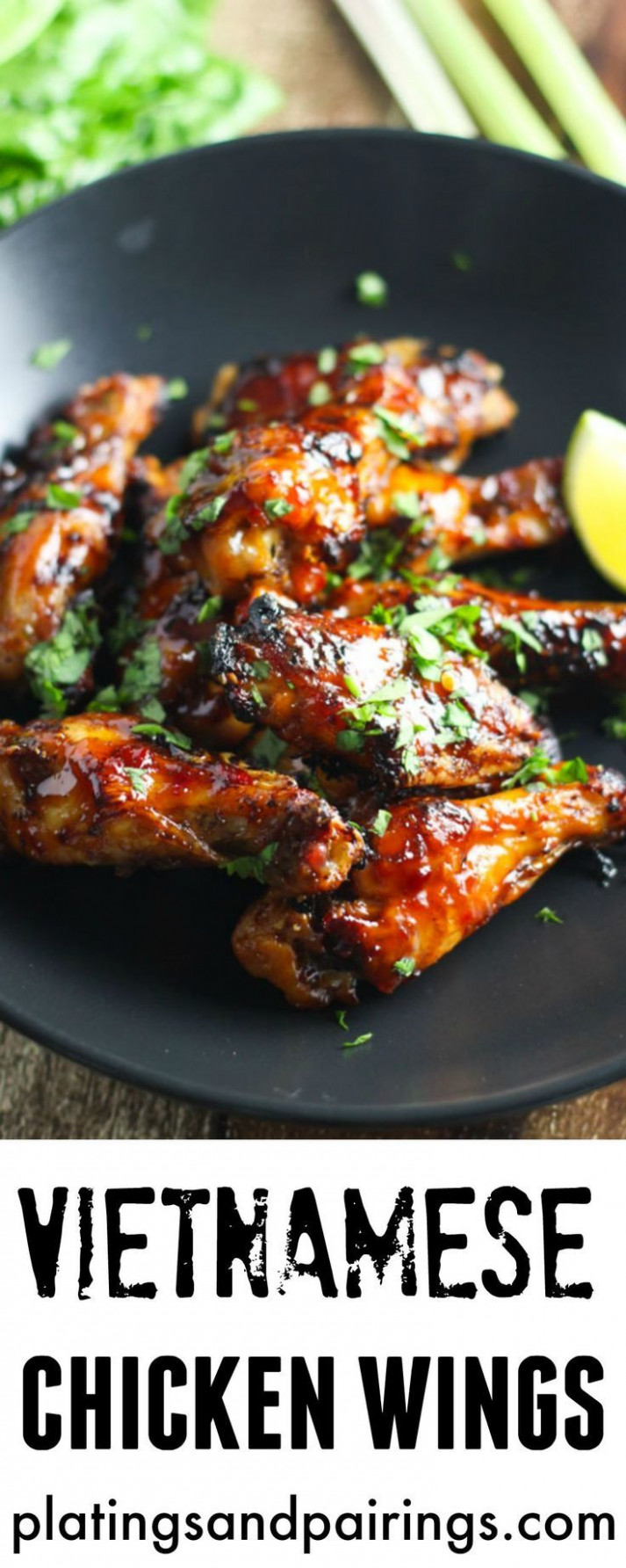 Vietnamese Chicken Wings - Baked, not fried and full of ..
