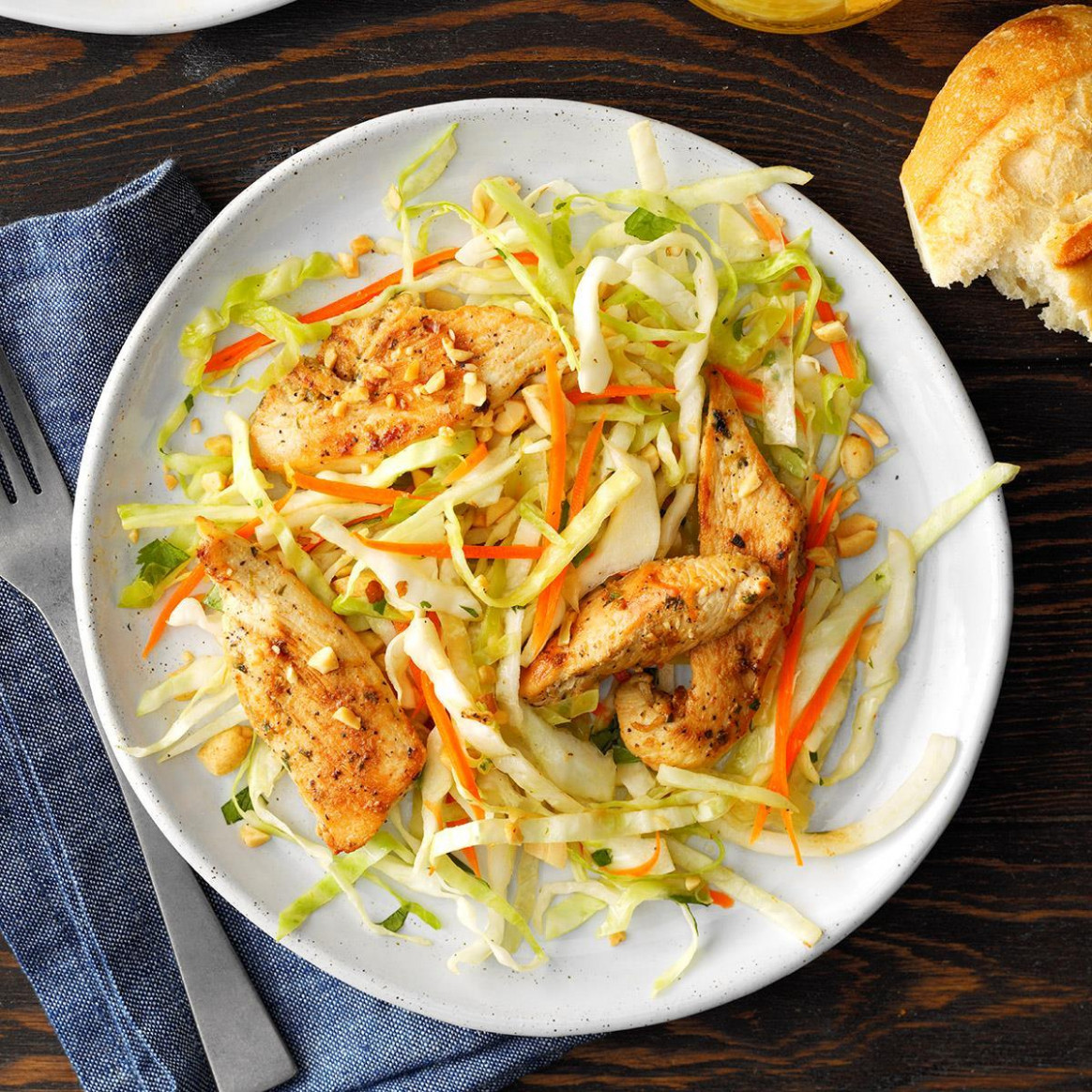 Vietnamese Crunchy Chicken Salad - vietnamese recipes chicken