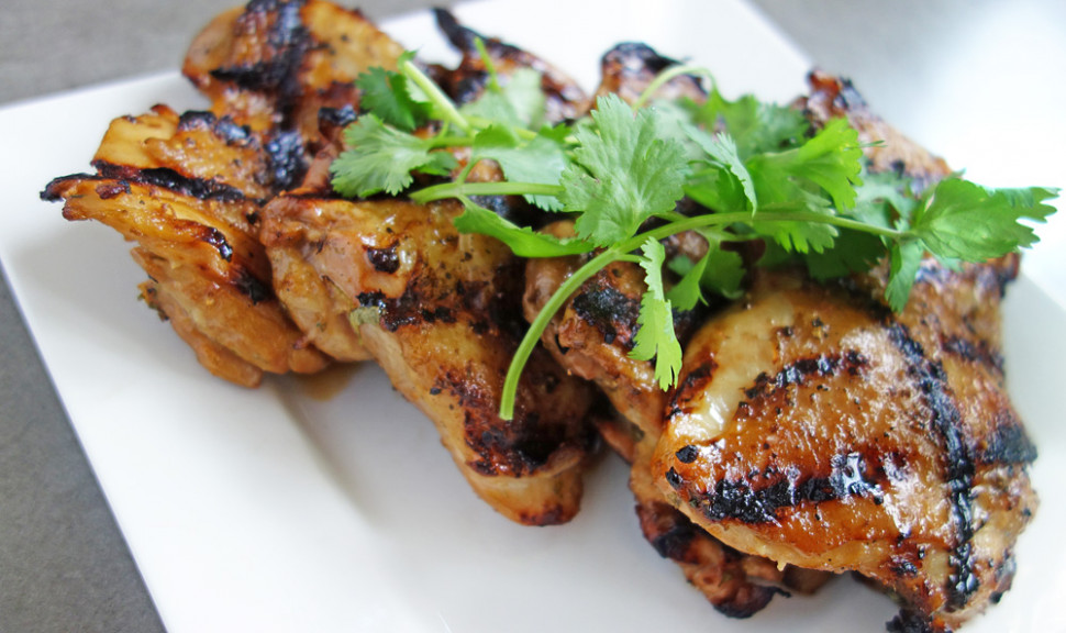 Vietnamese Grilled Chicken Thighs | Pen & Fork - chicken recipes vietnamese