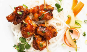 Vietnamese Style Sticky Chicken Skewers Recipe ..