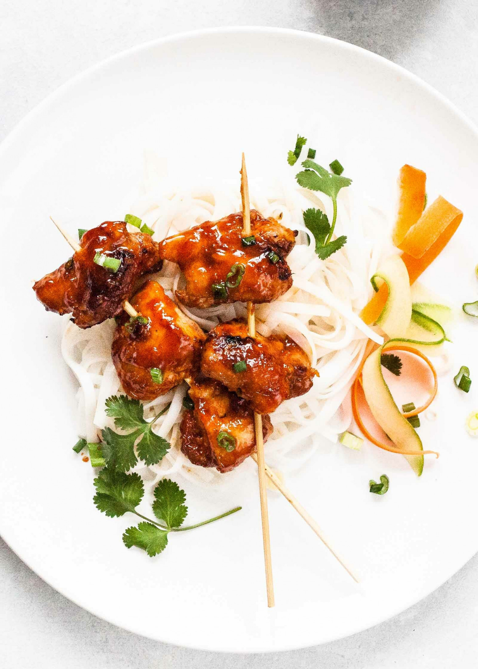 Vietnamese-Style Sticky Chicken Skewers Recipe ..