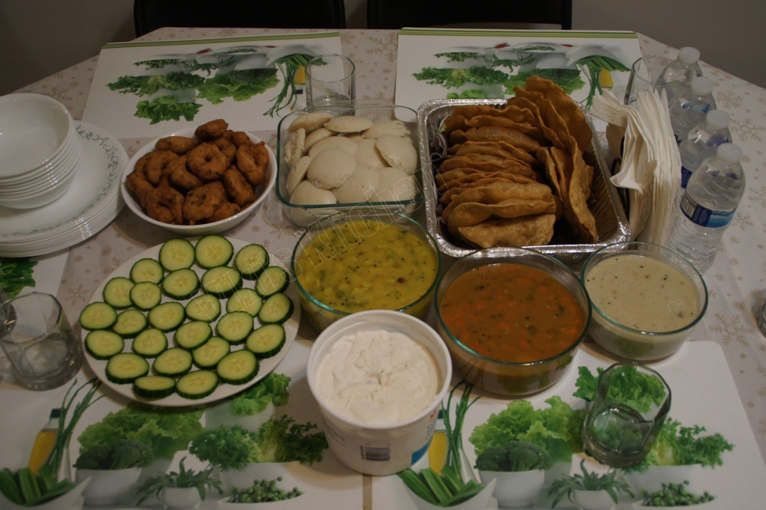 Viki 14s Kitchen South Indian Vegetarian Party Vietri Dishes ..