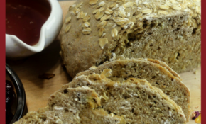Viking Brown Bread – Scandinavia's Soda Bread – Viking Food Recipes