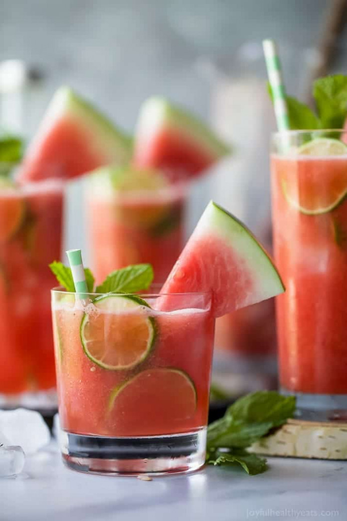 Vodka Watermelon Cocktail Recipe | Summer Cocktails - Food And Drink Recipes