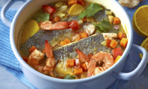 Waitrose Food January 2016: Rick Stein's Greek Fish Stew ..
