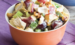 Waldorf Chicken Salad Recipe | MyRecipes – Salad Recipes Chicken
