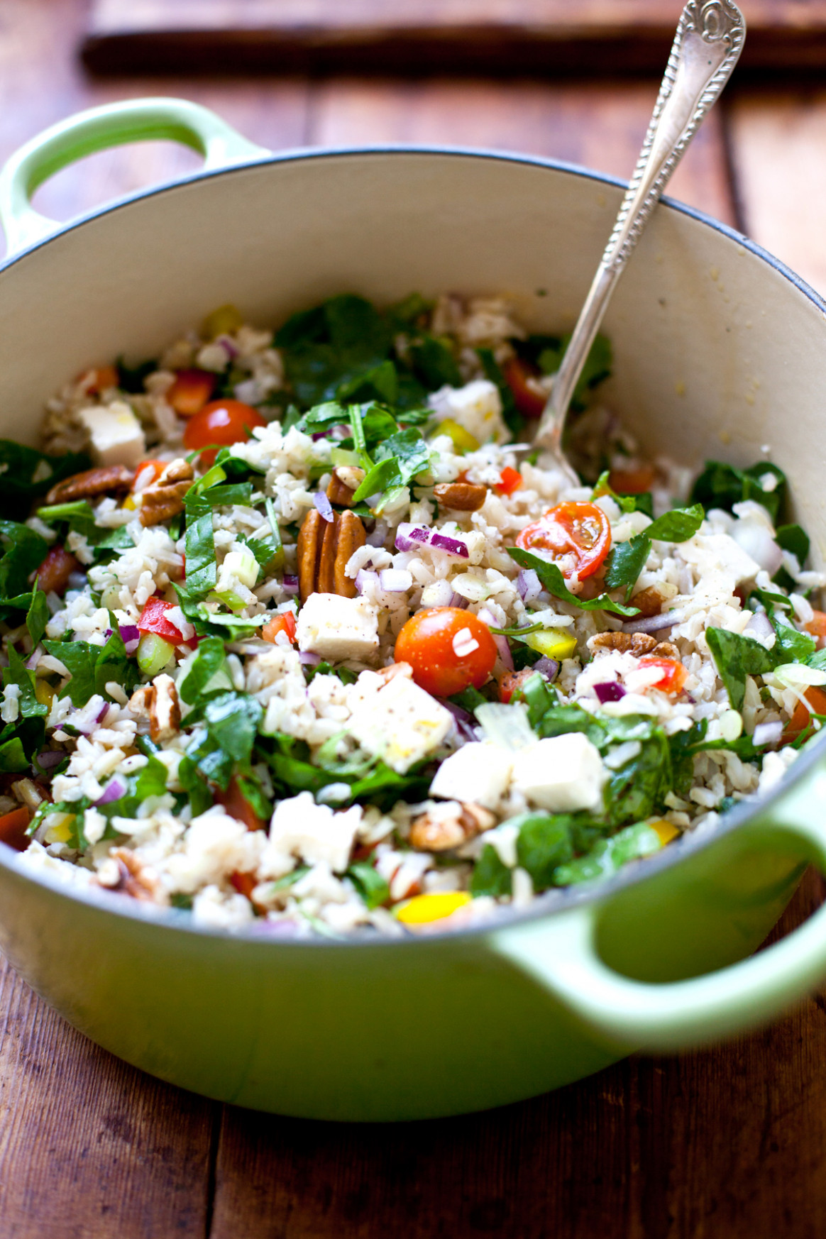 Warm and Healthy Brown Rice Salad - recipes brown rice healthy