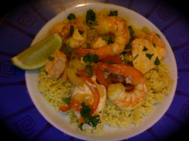 Warm Seafood Couscous Salad | BBC Good Food - Recipes That Are Cheap And Healthy