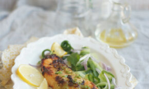 Wasabi Salmon With Cucumber Salad4 – Low Glycemic Recipes Dinner