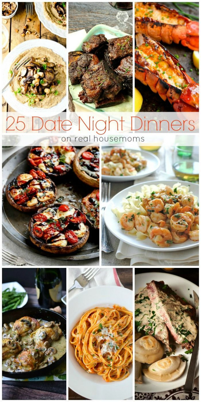 We love these 15 DATE NIGHT DINNERS for a fun date-night in ..