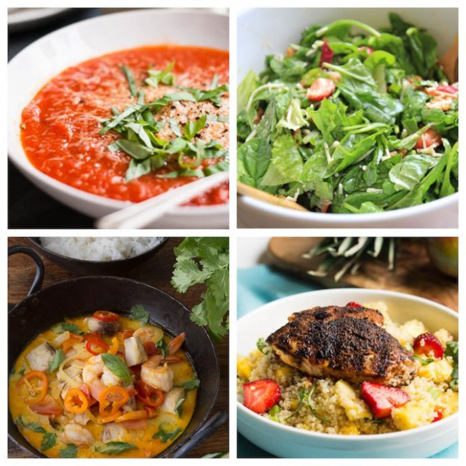 Week 2 Meal Plan: No Gluten, No Dairy, No Sugar - | The ..