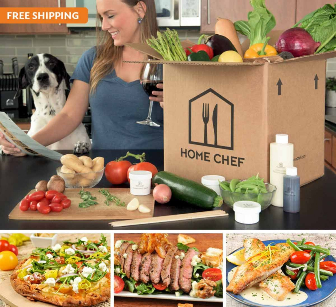 Weekly meal delivery service - chef prepared recipes ..