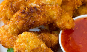 Weekly Meal Plan: Coconut Chicken Tenders At Dinner At The ..