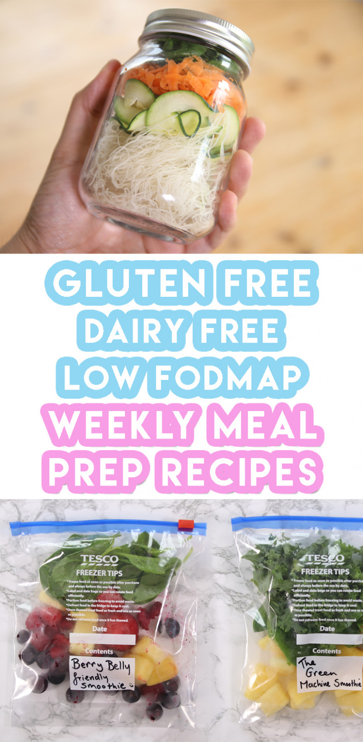 Weekly Meal Prep Recipes: Breakfast, Lunch & Dinner (Gluten ..