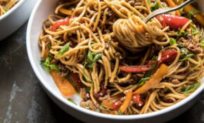 Weeknight 14 Minute Spicy Udon Noodles – Recipes Vegetarian Noodles