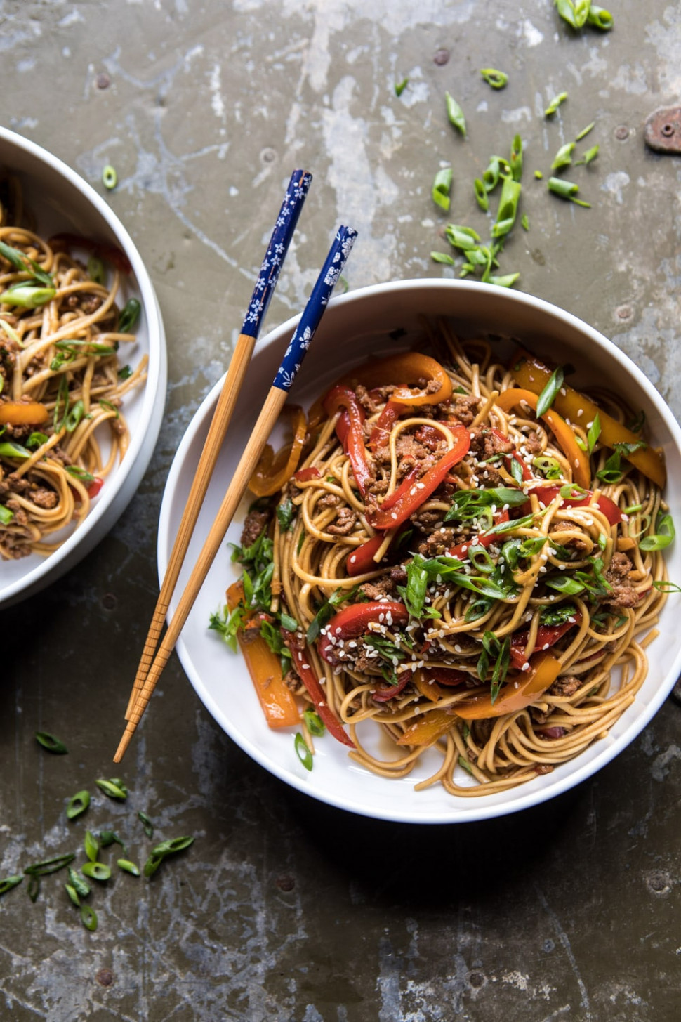 Weeknight 15 Minute Spicy Udon Noodles - udon noodle recipes vegetarian