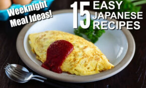Weeknight Meal Ideas: 15 Easy Japanese Recipes • Just One ...