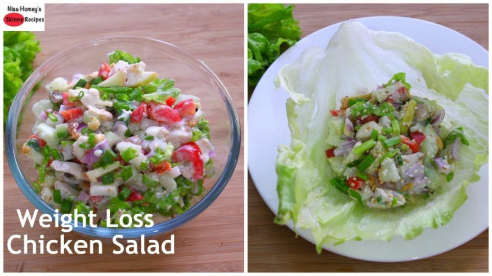 Weight Loss Chicken Salad Recipe – Oil Free Skinny Recipes ..