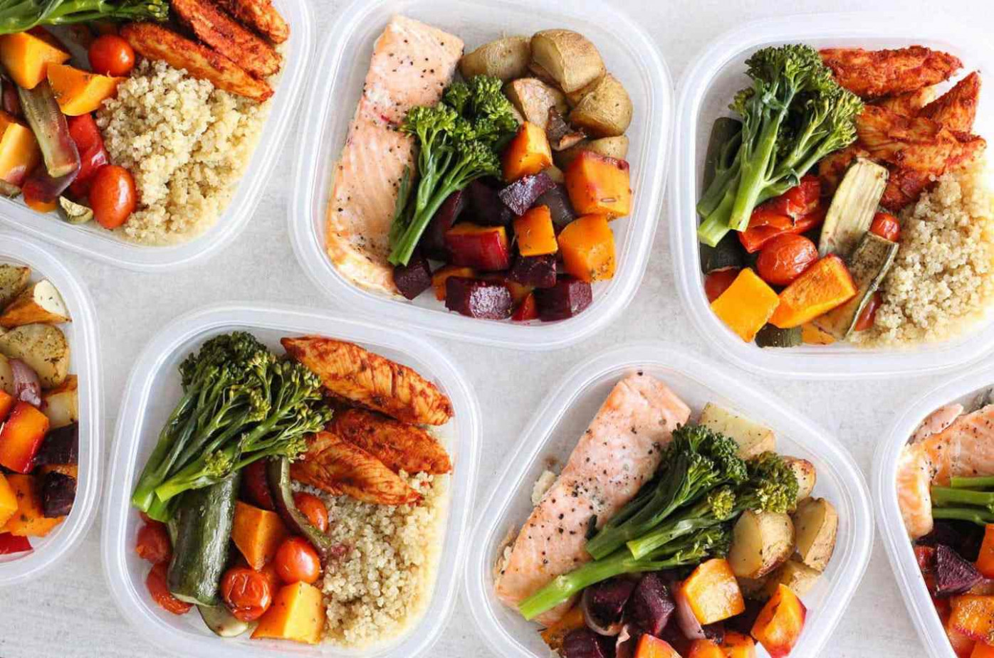 Weight-loss Meal Prep For Women (1 Week in 1 Hour) | Liezl ..