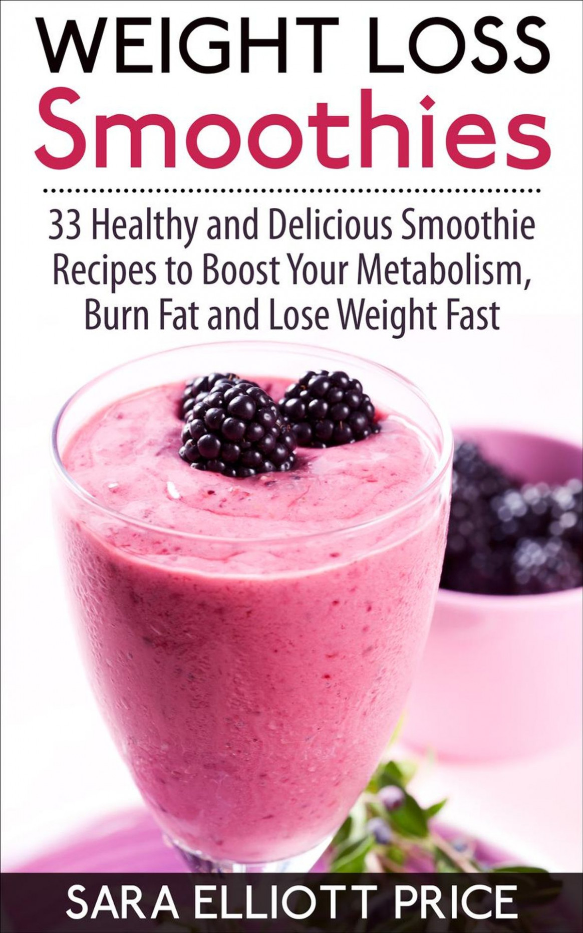Weight Loss Smoothies: 12 Healthy and Delicious Smoothie Recipes to Boost  Your Metabolism, Burn Fat and Lose Weight Fast ebook by Sara Elliott Price  - ..