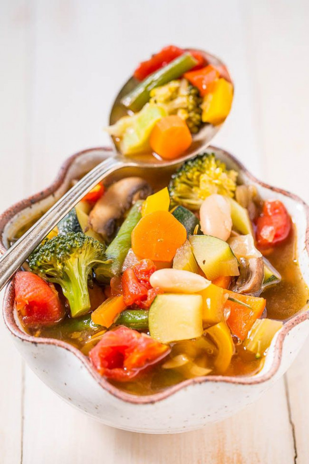 Weight Loss Vegetable Soup | Recipe | Averie Cooks ..