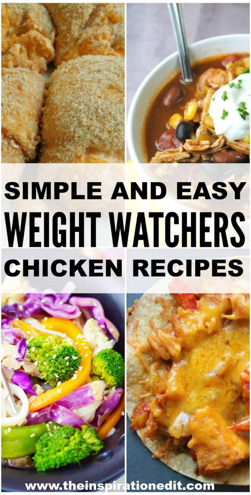 Weight Watchers Chicken Recipes · The Inspiration Edit