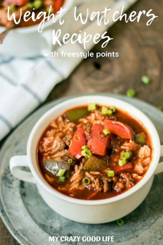 Weight Watchers Recipes With Freestyle Points - My Crazy ..