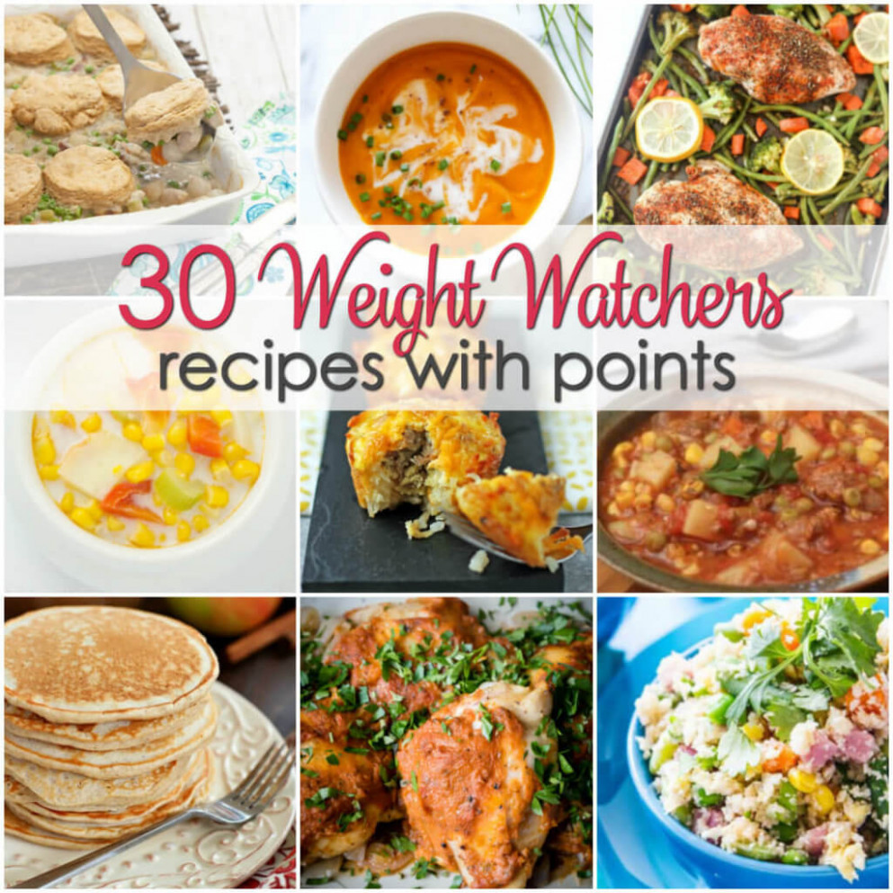 Weight Watchers Recipes with Points | It Is a Keeper - ww recipes dinner