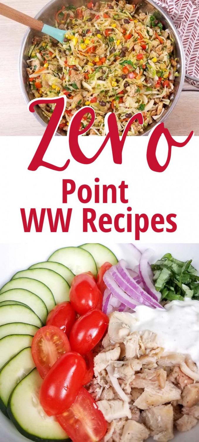 Weight Watchers Zero Point Lunch and Dinner Recipes - My ..