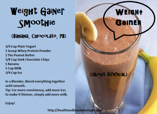 #WeightGainer Smoothie | Healthy and Nutritious Recipes ..