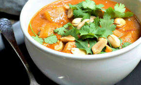 West African Peanut Soup With Chicken – African Recipes Chicken