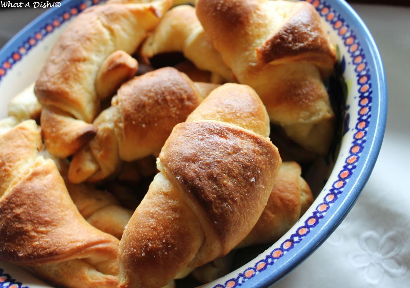 What A Dish!: Overnight Dinner Rolls - dinner recipes you can make the night before