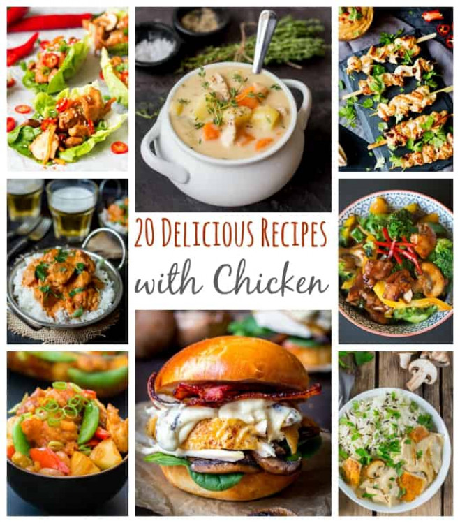 What Can I Make With Chicken? - 20 Delicious Chicken ..