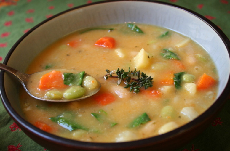 What Did You Eat?: WHB: Hearty Vegetable Soup (Thyme) - vegetable soup recipes vegetarian