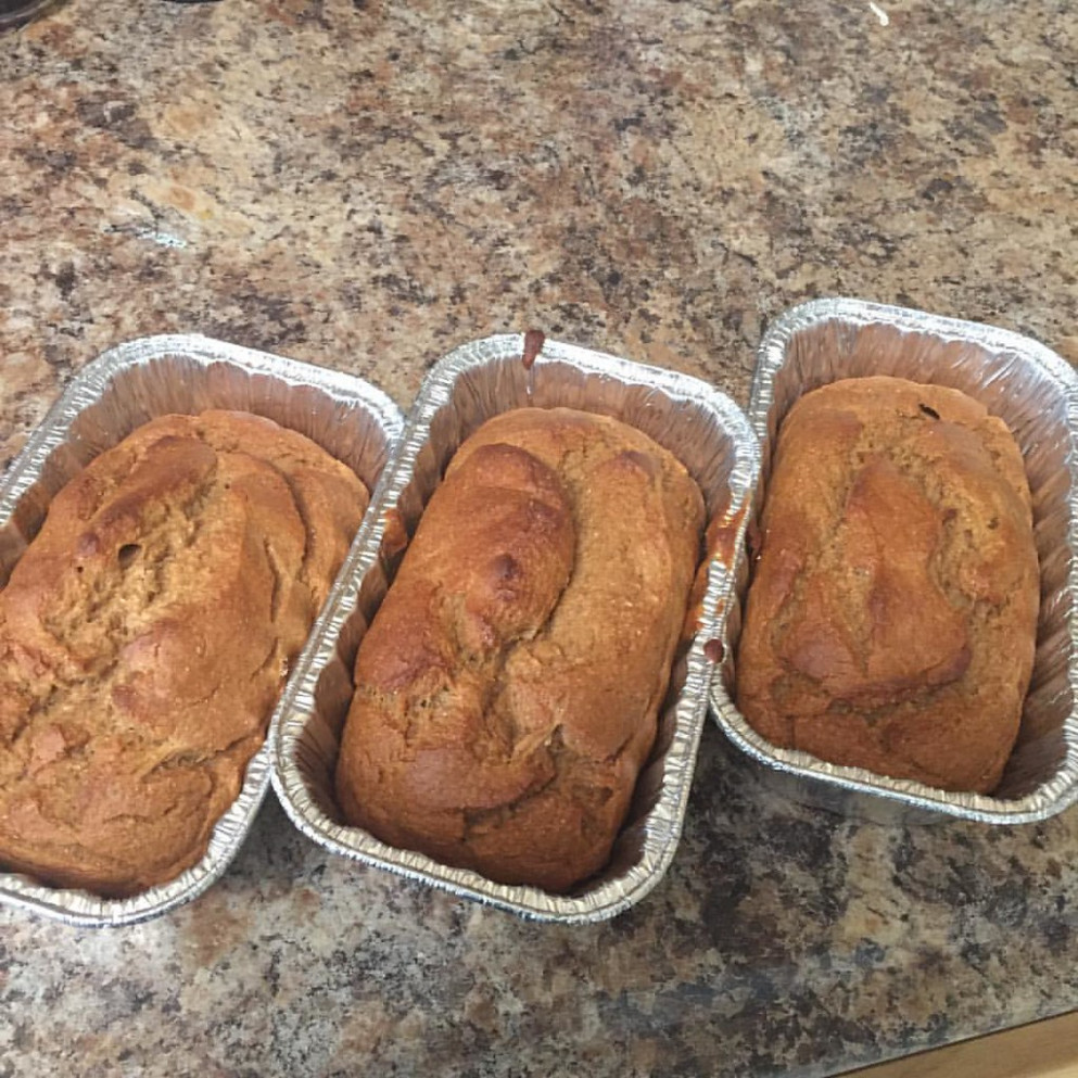 What Do You Do When You're On A Diet And Your Bananas Went Ripe Too Fast? You Consult Pinterest For A Low Fat Banana Bread Recipe