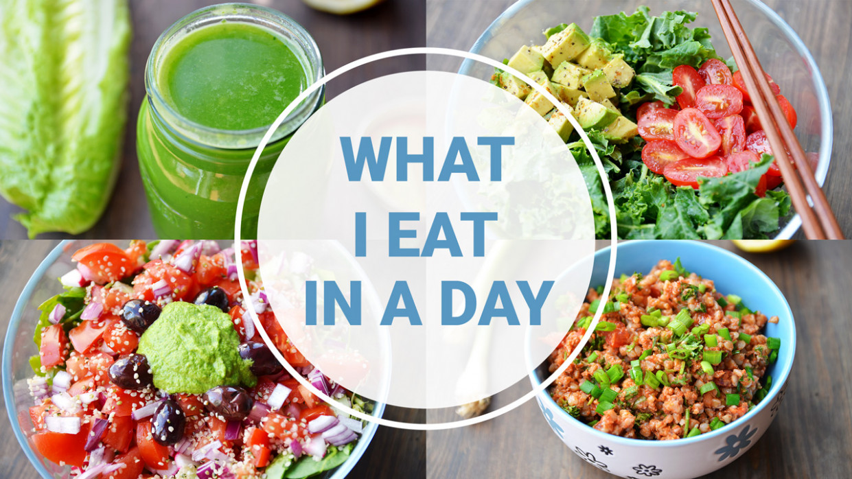 What I Eat In A Day | HEALTHY + VEGAN - Fablunch - vegan and healthy recipes